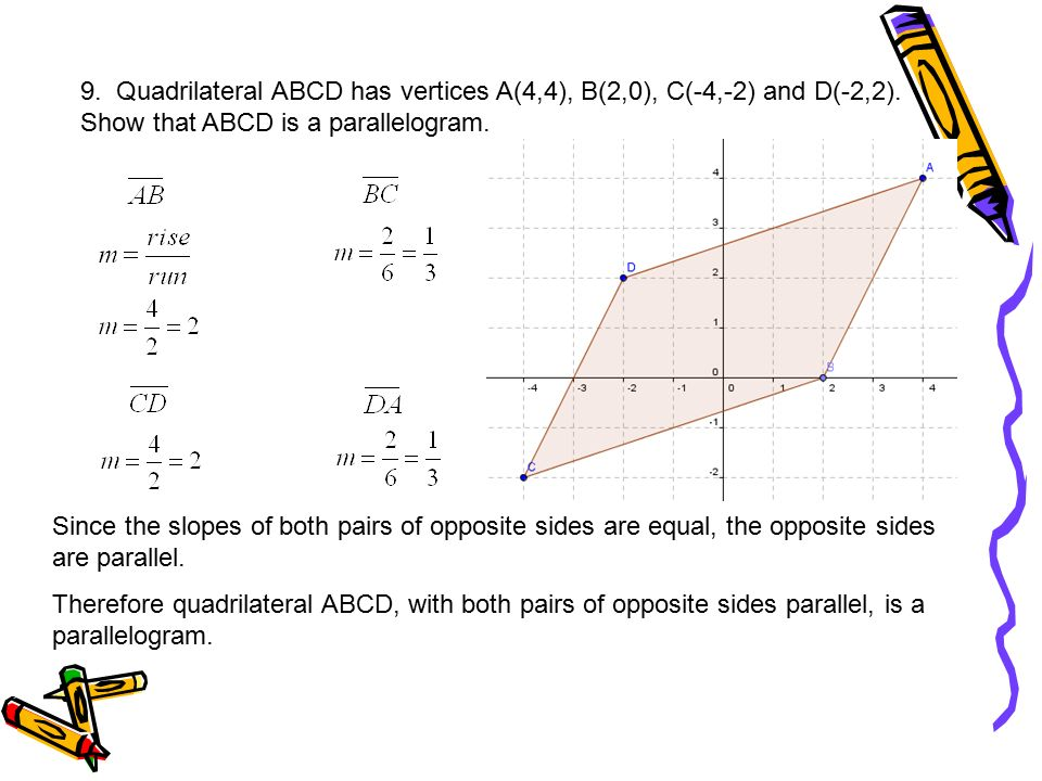 1 given triangle abc with vertices a00 b48 and c62 quadrilateral abcd has vertices a44 b2 ccuart Gallery