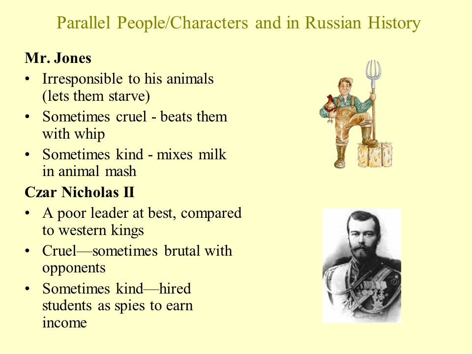 animal farm allegory russian revolution