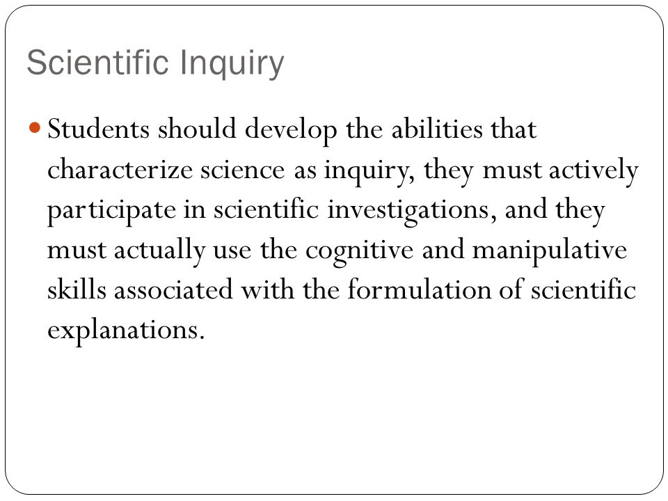 inquiry and the national science education standards pdf
