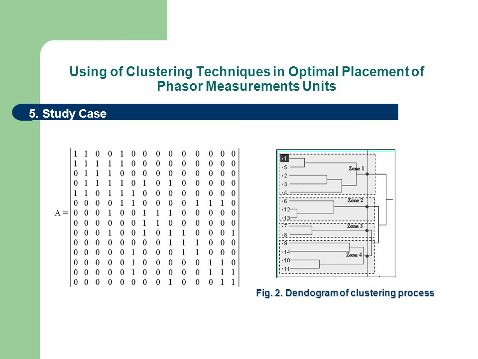 Using of Clustering Techniques in Optimal Placement of Phasor Measurements Units