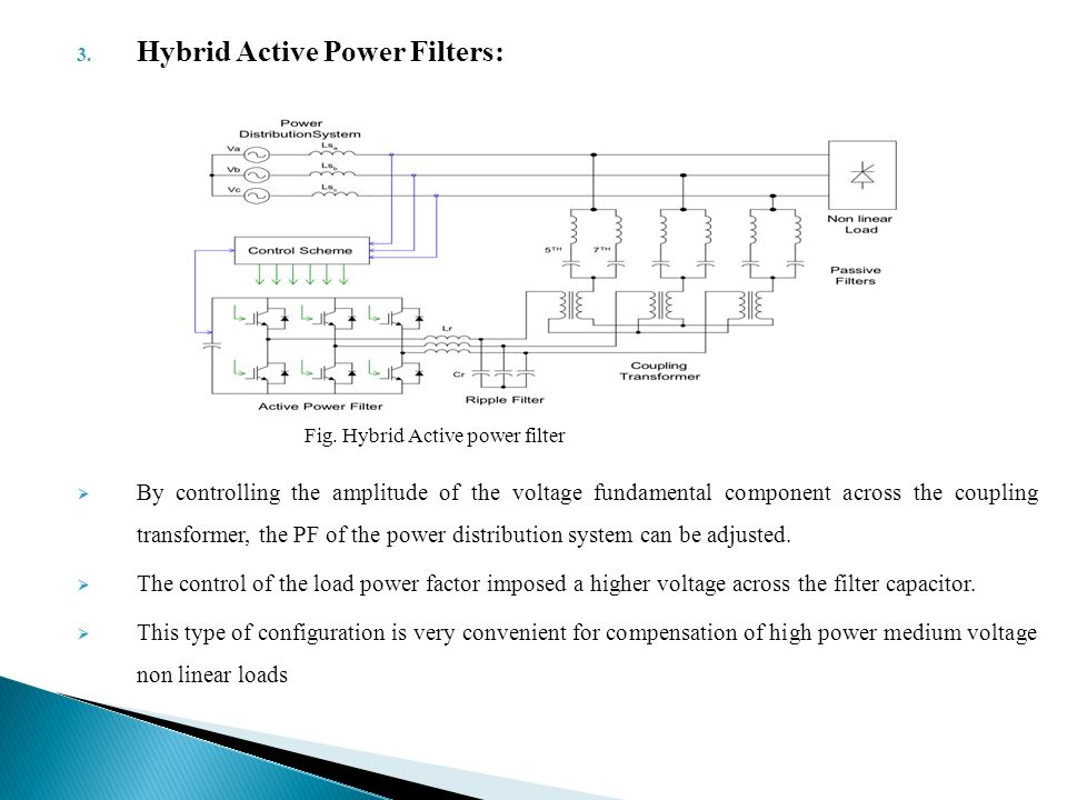 Active Power Filter For Power Compensation Ppt Video Online Download