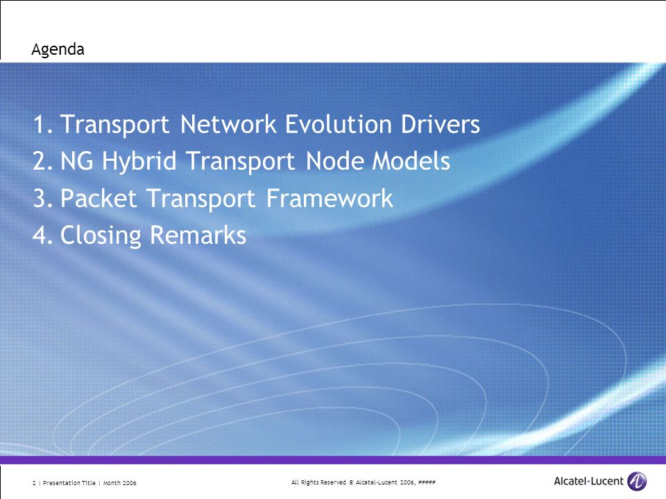 Alcatel-Lucent PowerPoint Design Guidelines - ppt download