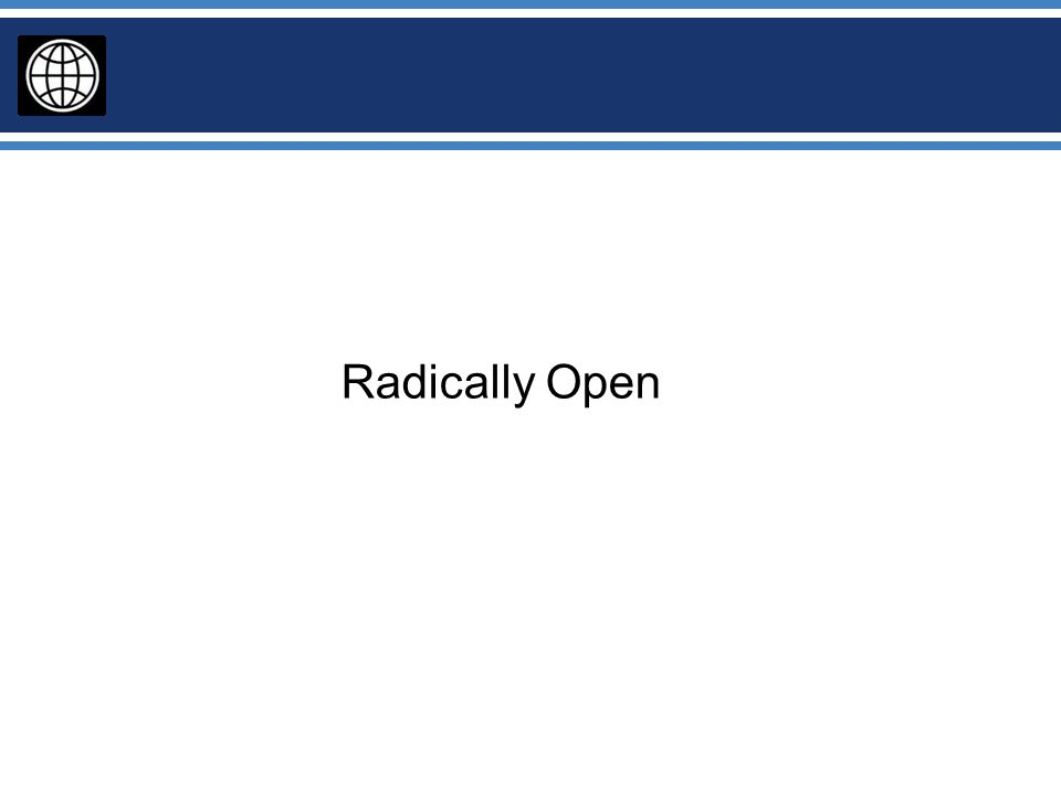 Radically Open