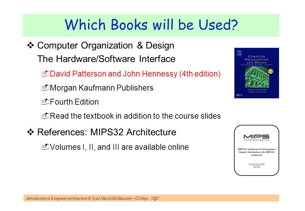 Introduction To Computer Architecture Ppt Video Online Download