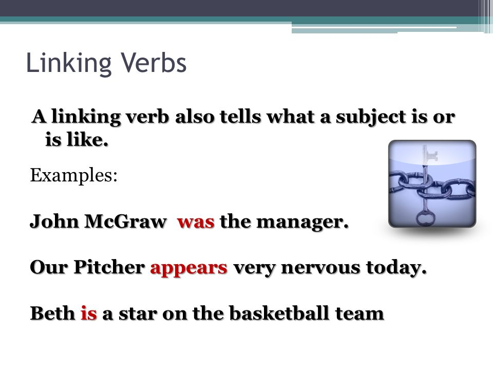 Linking Verbs Ppt Video Online Download