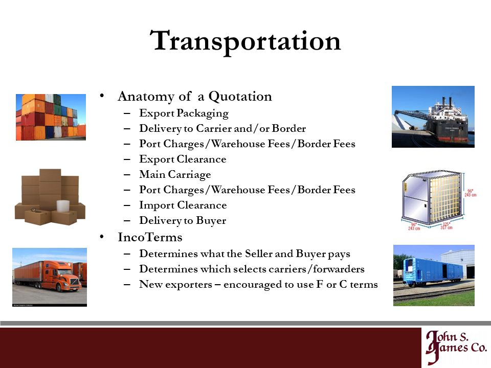 The Role of the Freight Forwarder - ppt video online download