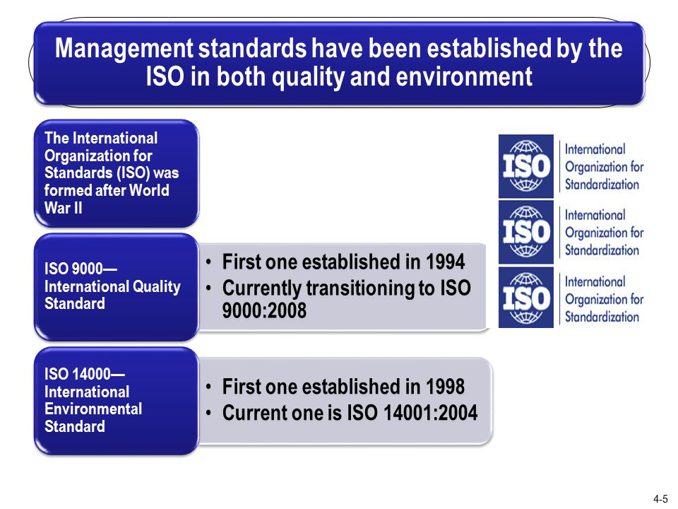 has mcdonalds implemented international organization for standards iso 14000 protocols Iso international organization for standardization, the body responsible for all international data-processing standards, and many others it was founded in 1946 and its members comprise national standards bodies in over 70 countries.