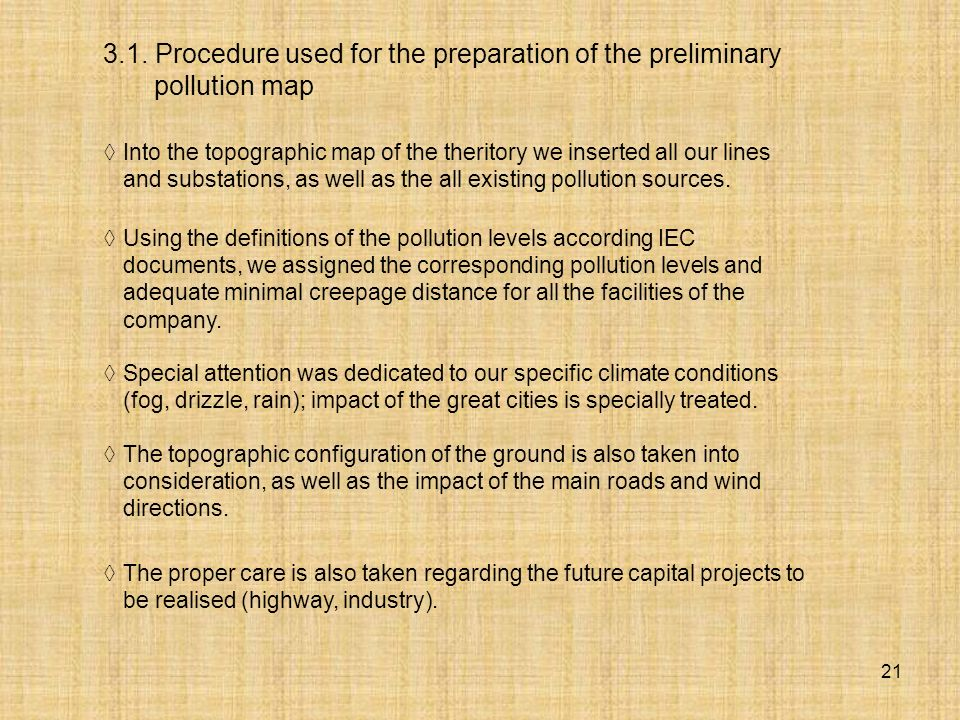 3.1. Procedure used for the preparation of the preliminary