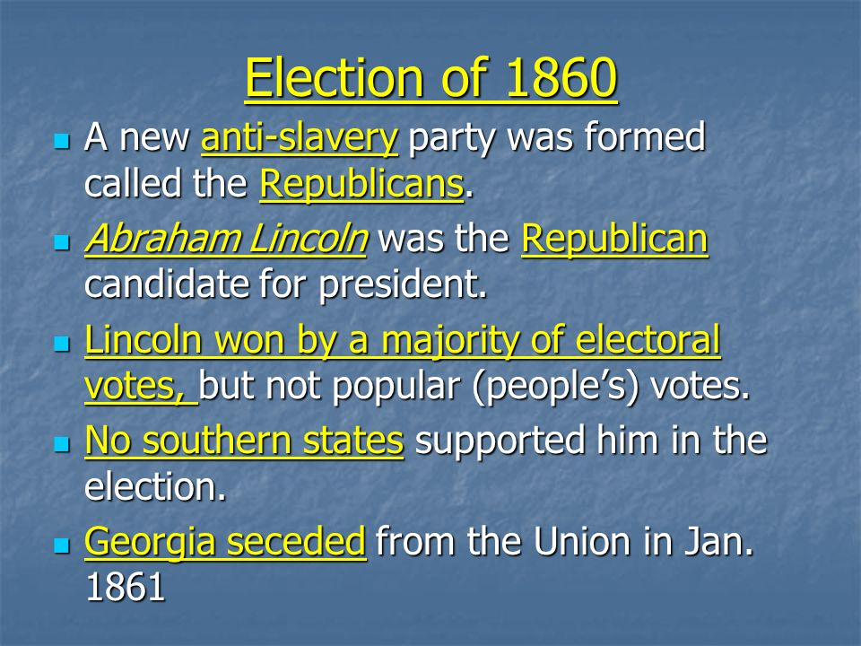 events that led to the civil war The overall trend that led to the civil war was the nation's inability to compromise effectively on the issue of slavery starting at the signing of the declaration of independence, slavery.