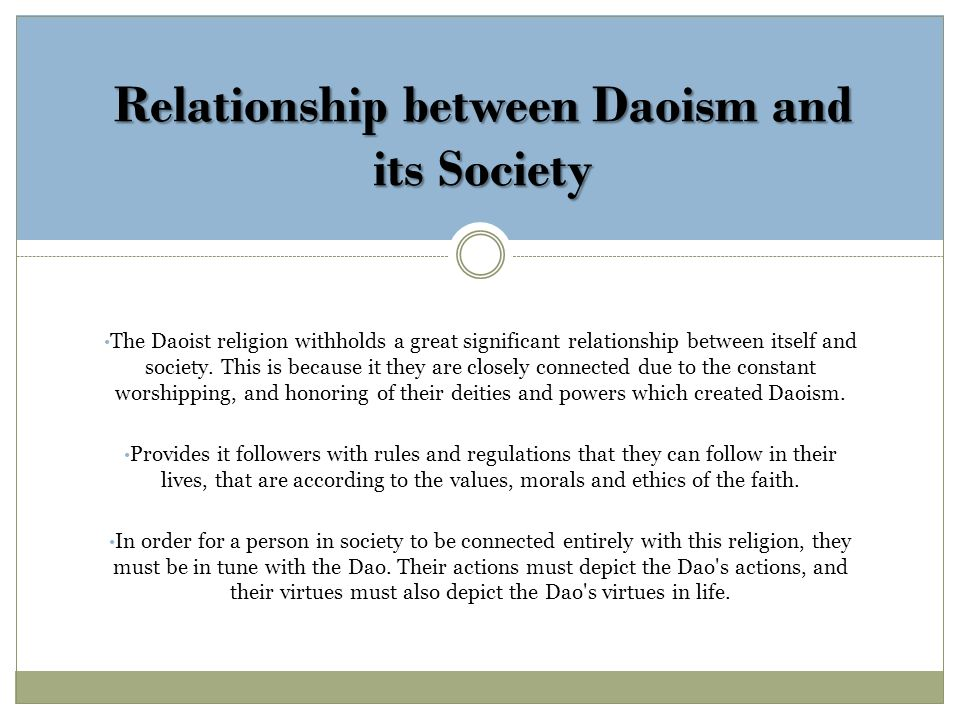 Taoism And Relationships