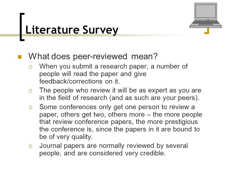 research papers on literature review Further tips for writing a literature review full-length literature reviews many full-length literature review articles use a three-part structure: introduction.