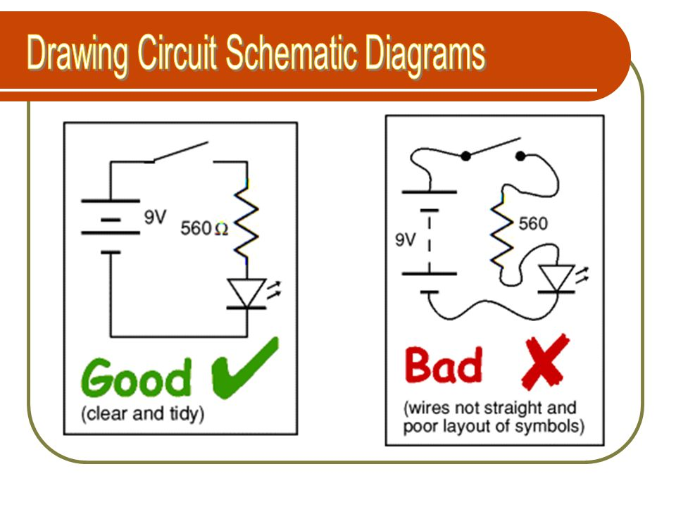 Drawing Circuit Schematic Diagrams