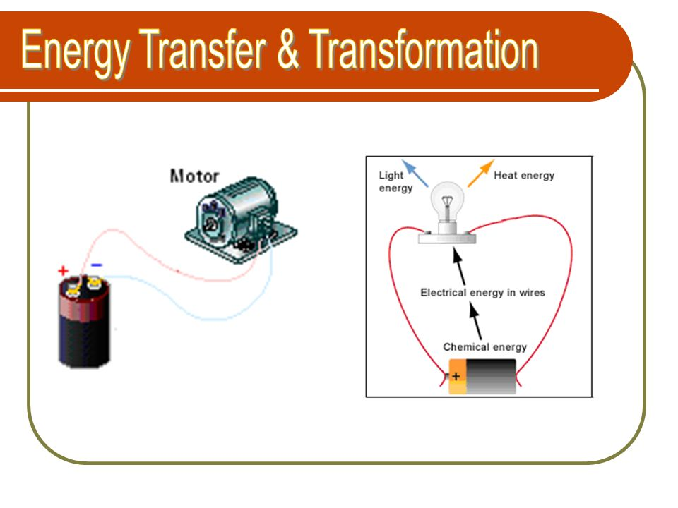 Energy Transfer & Transformation