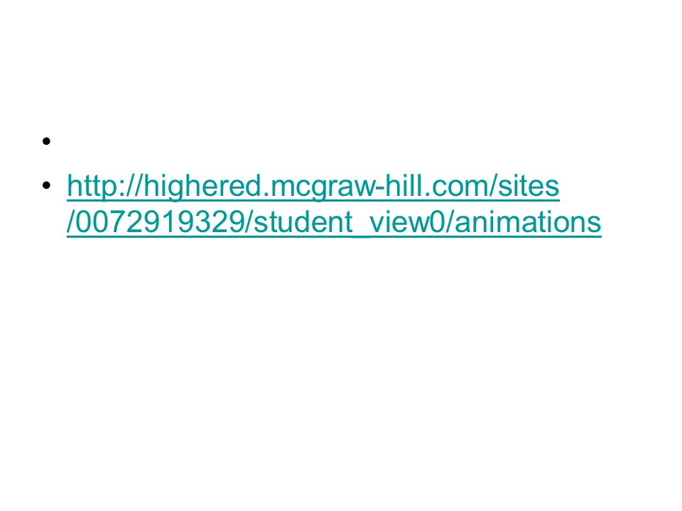 http://highered.mcgraw-hill.com/sites /0072919329/student_view0/animations
