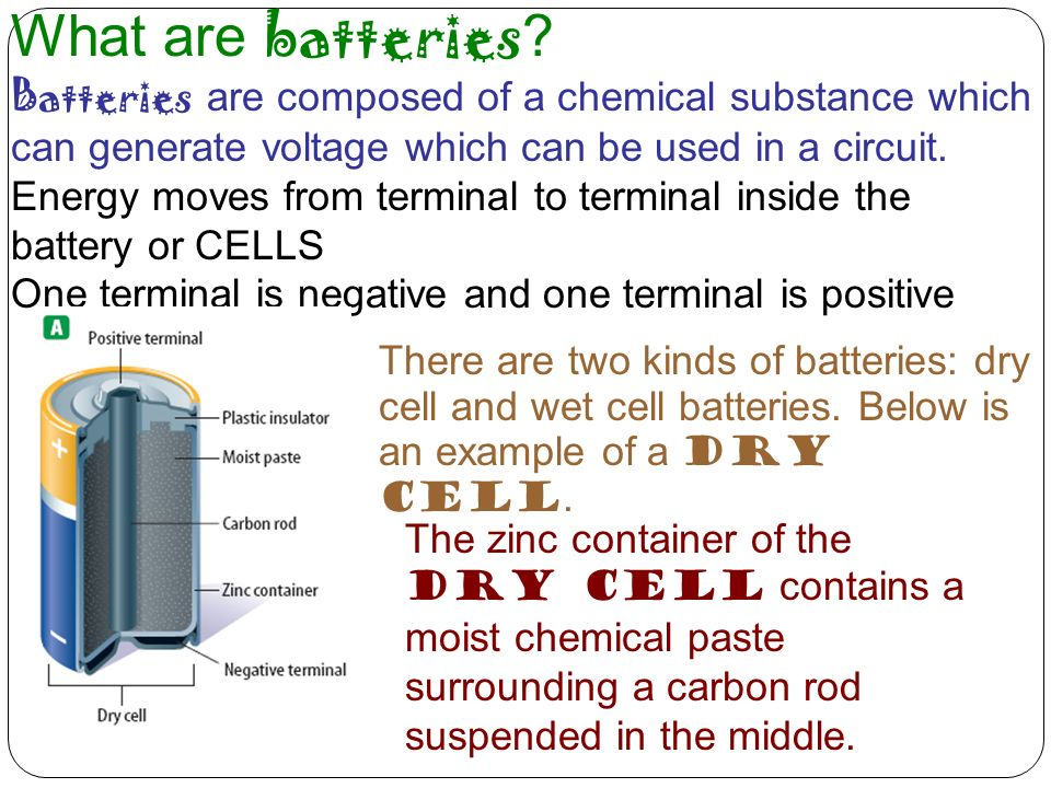 What are batteries