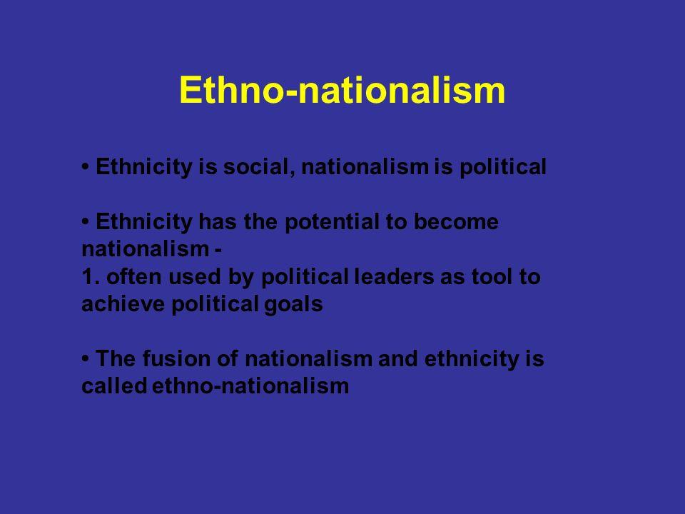 ethnonationalism definition