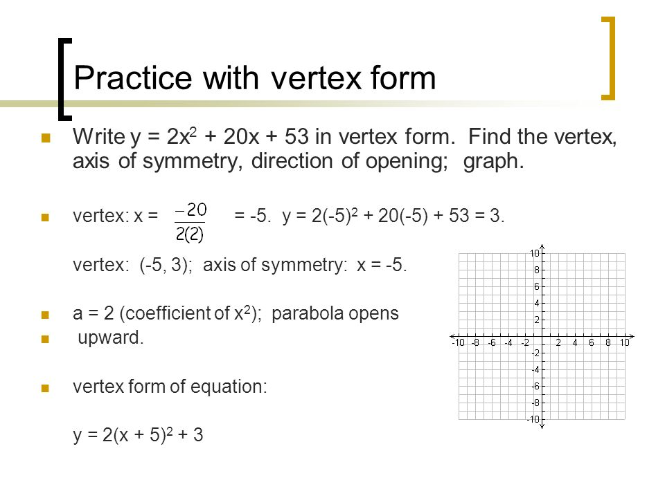 Chapter 10 Quadratic Relations Ppt Download