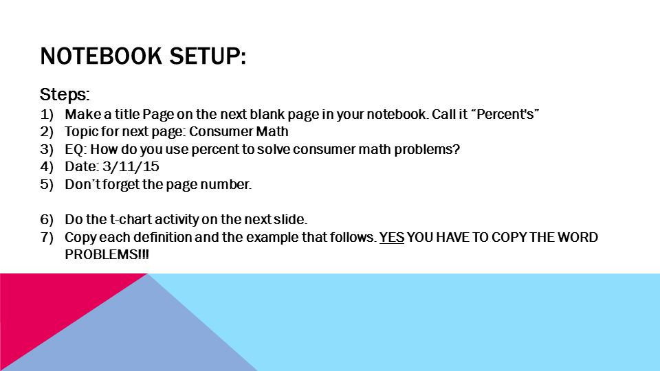Consumer Math Vocabulary. - ppt video online download
