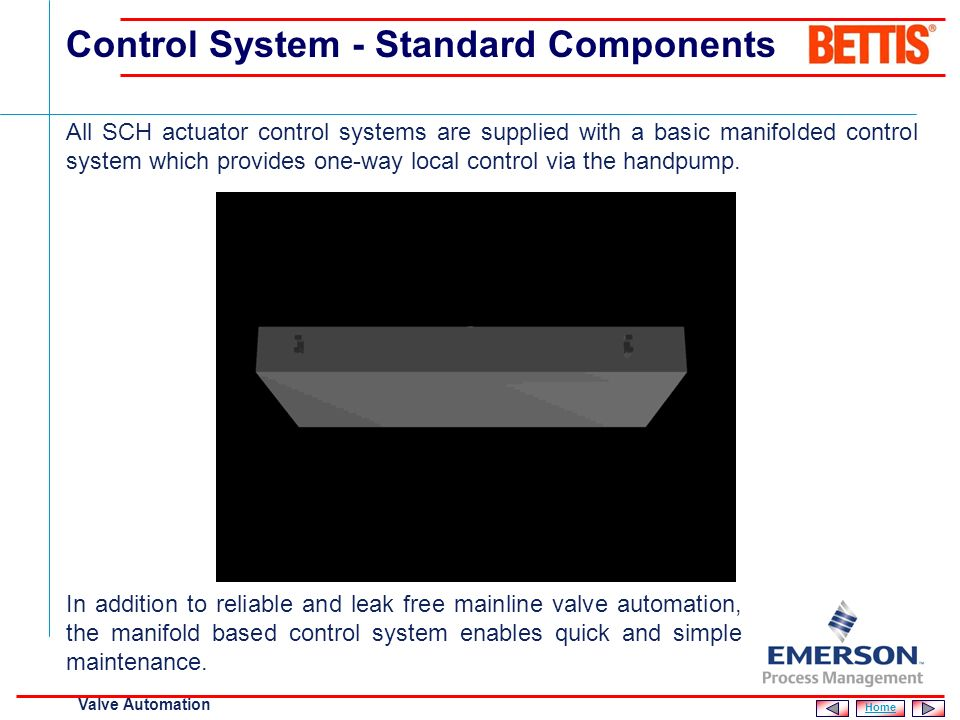 Control System - Standard Components