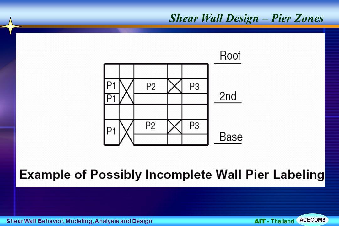 Shear Wall Design Shear Wall  Design Example Of Shear Wall