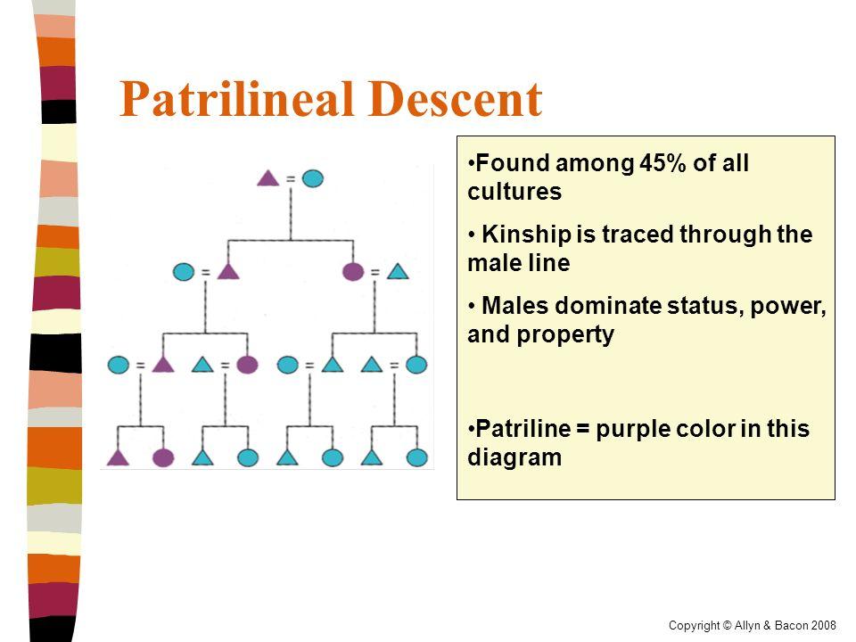 patrilineal kinship system