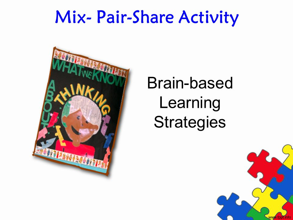 Mix- Pair-Share Activity
