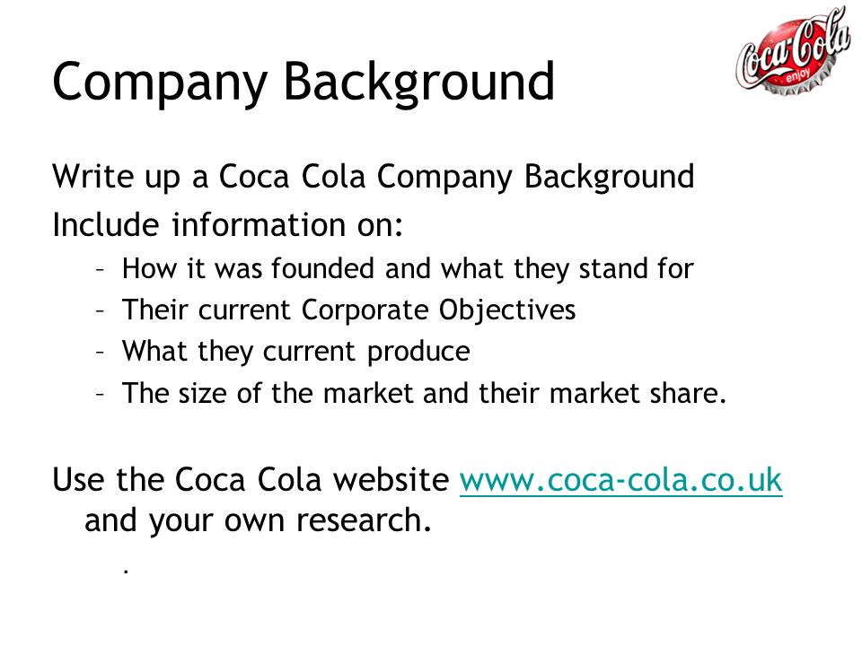 coca cola uk market share