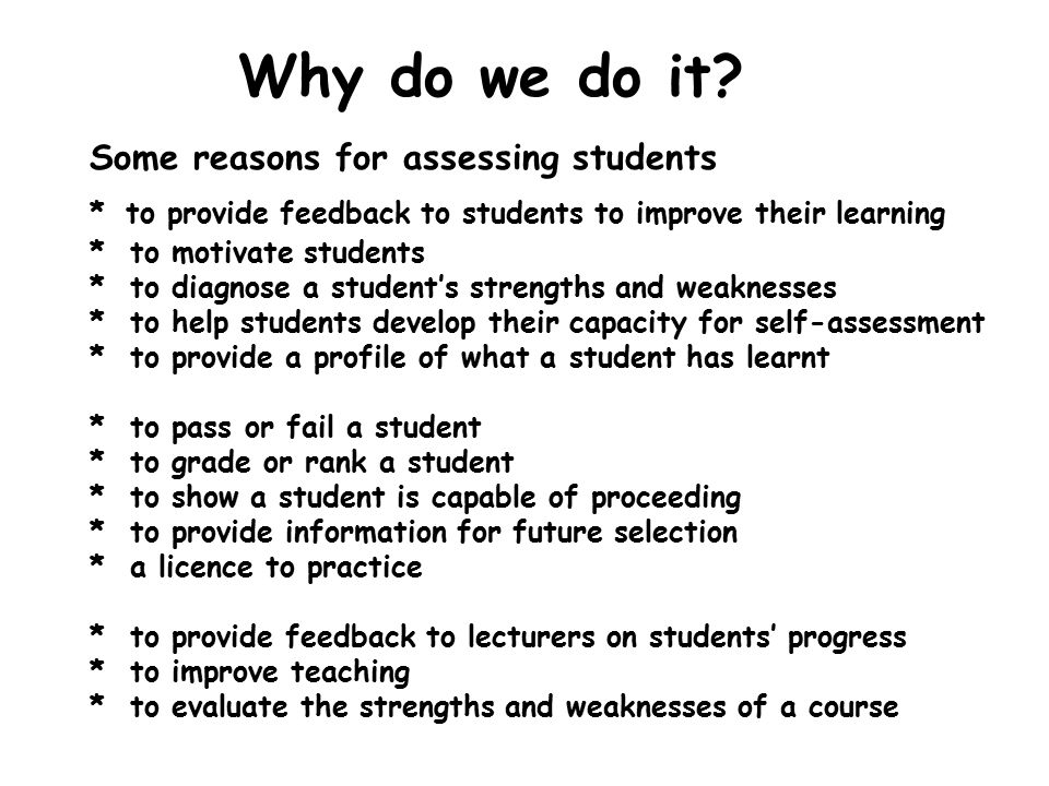 Introduction to assessment Norman Jackson - ppt download