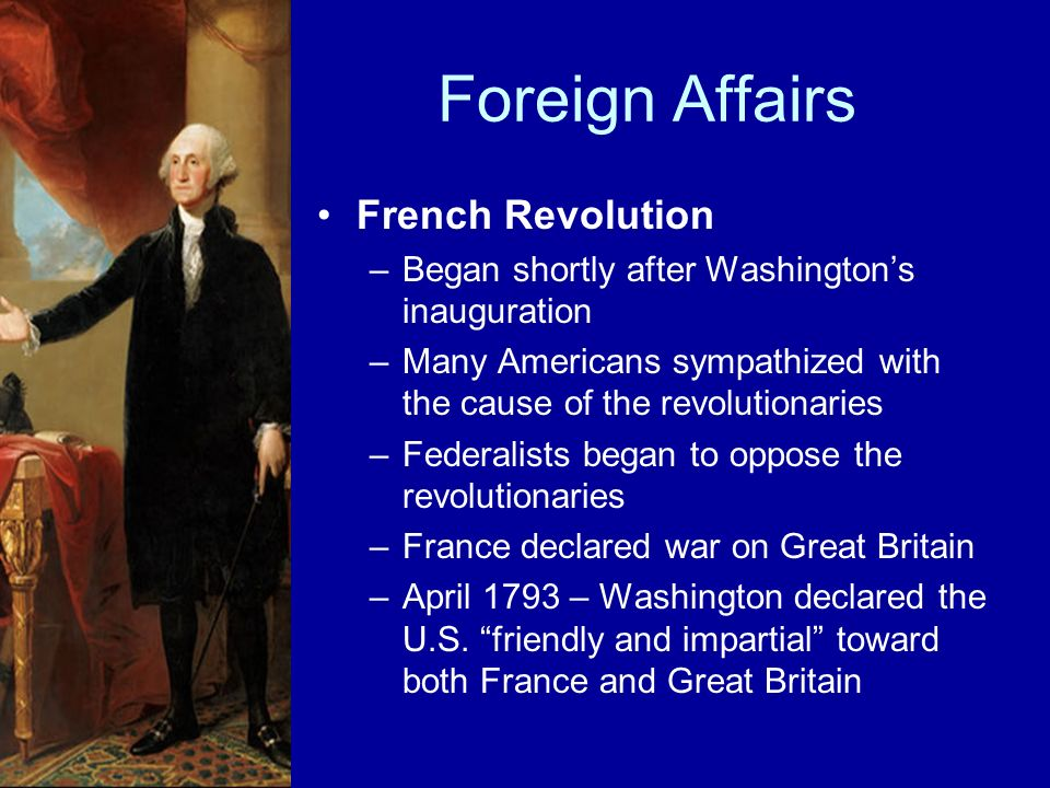 Foreign Affairs French Revolution