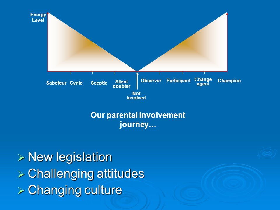 Our parental involvement journey…