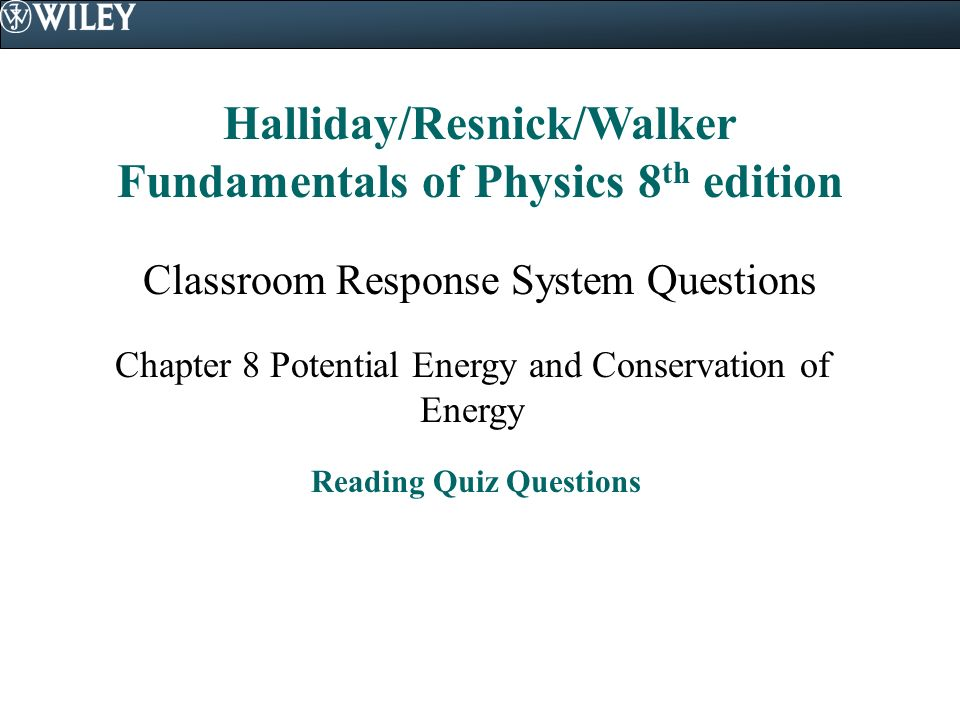 conservation of energy questions