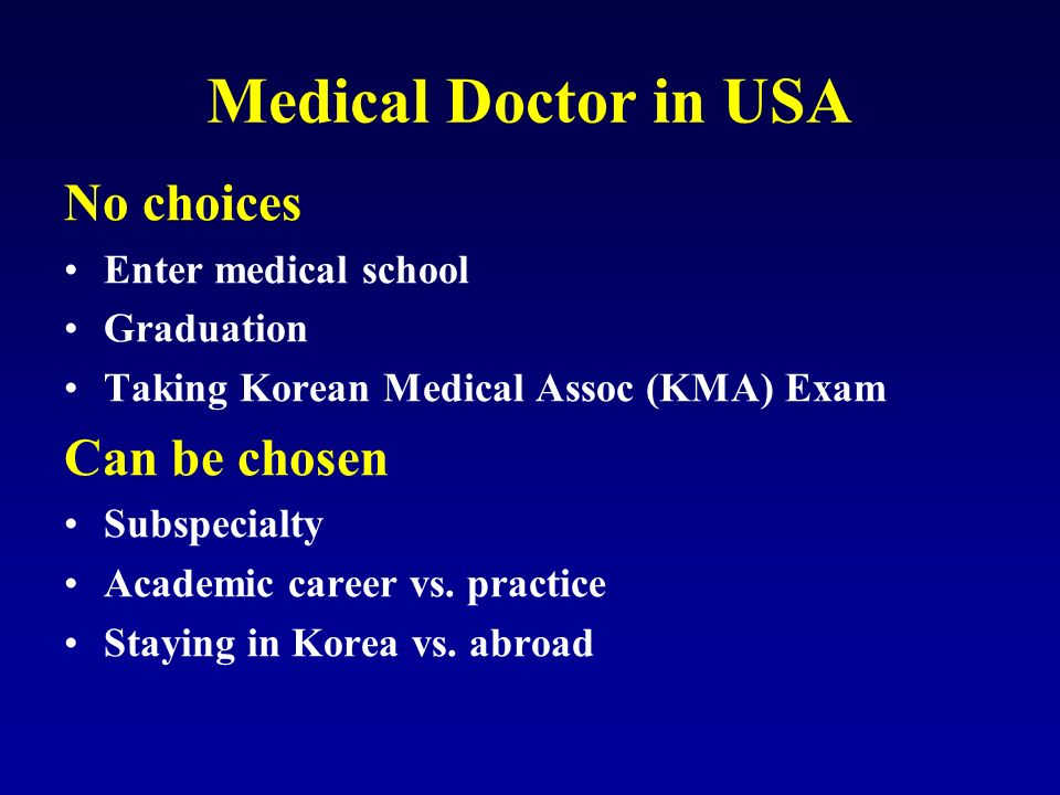 Medical doctors in usa how to prepare usmle ppt video online 5 medical malvernweather Image collections