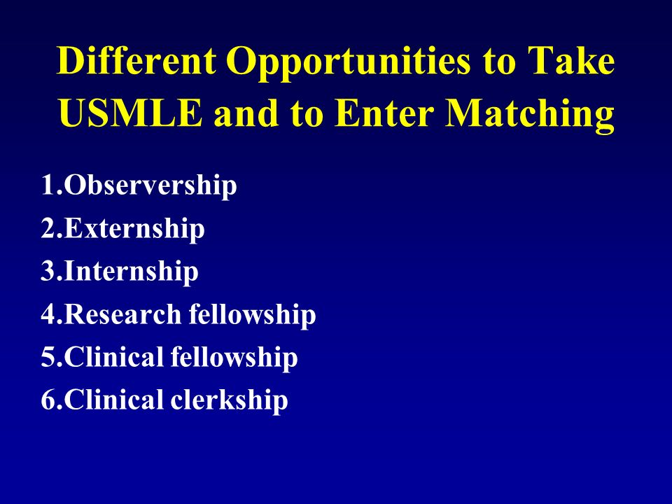 Medical Doctors in USA: How to prepare USMLE? - ppt video