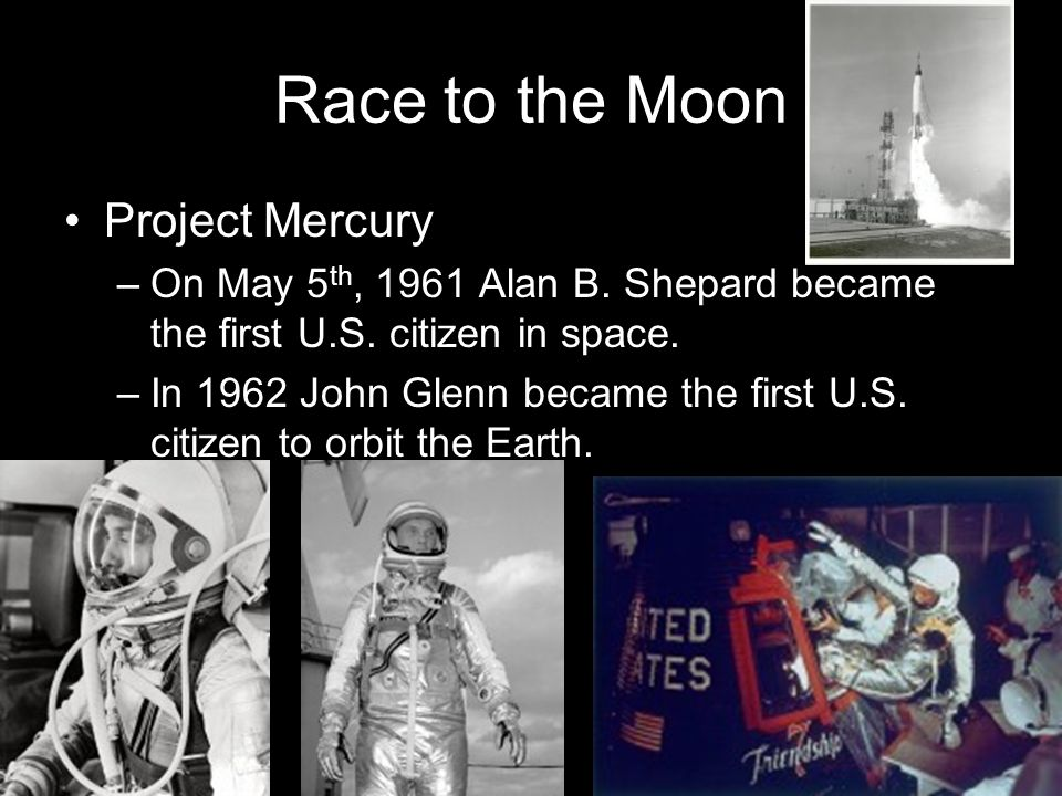 Race to the Moon Project Mercury