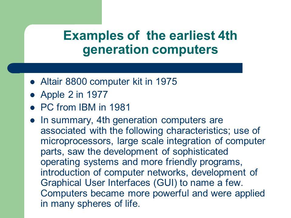 Computer generation and language translator.