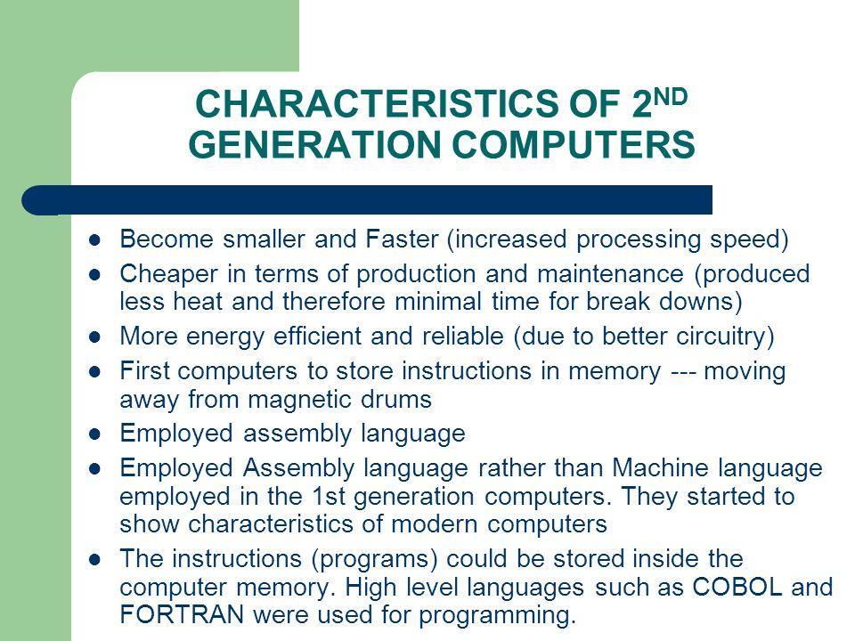 Second Generation Computers Era Of Transistors Ppt Video Online