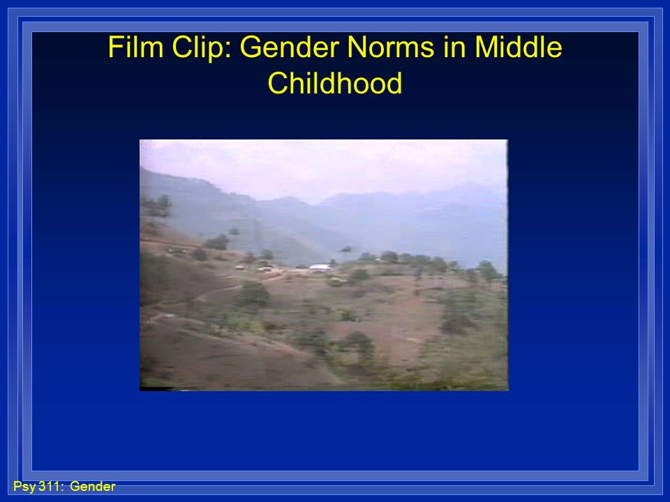 Film Clip: Gender Norms in Middle Childhood