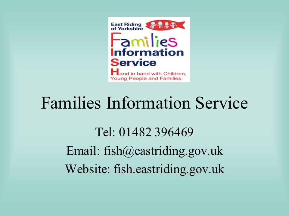Families Information Service