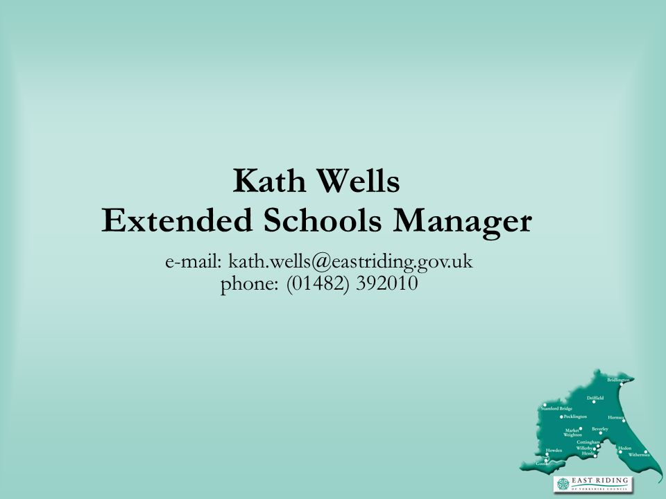 Extended Schools Manager