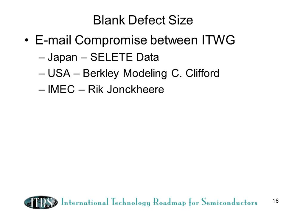 E-mail Compromise between ITWG