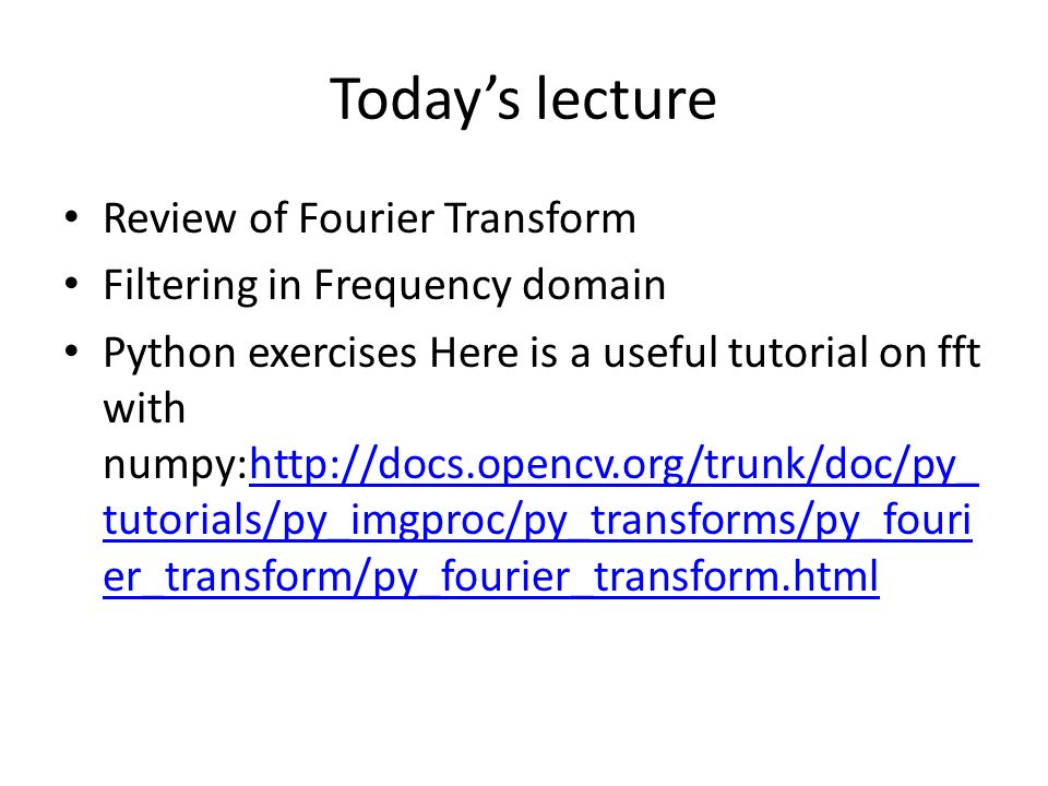 CSC589 Introduction to Computer Vision Lecture 8 - ppt video