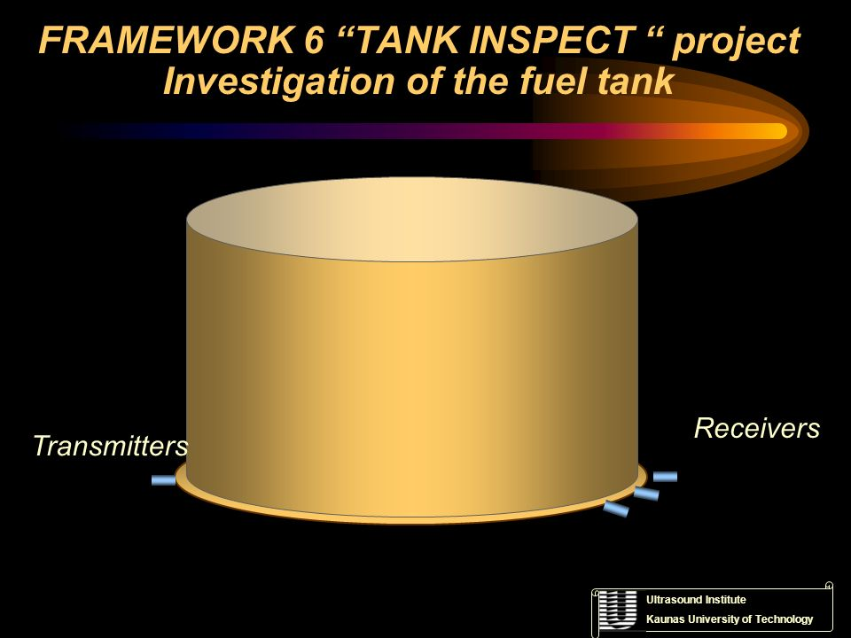 FRAMEWORK 6 TANK INSPECT project Investigation of the fuel tank