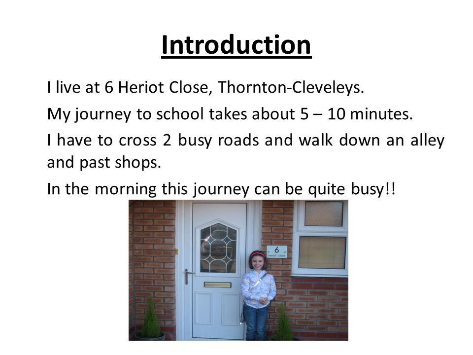 my journey to school