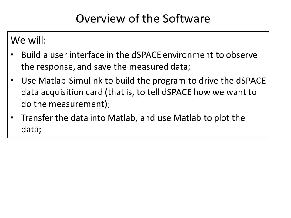 LAB 1 MATLAB, dSPACE and Simulink - ppt video online download
