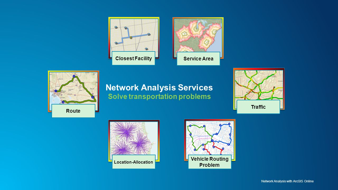 Top Five Publish Routing Service Arcgis - Circus