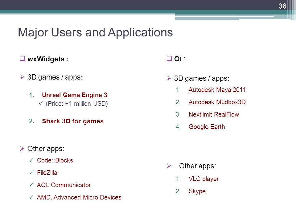 Cross-platform GUI Frameworks for 3D Apps and Games: Qt vs wxWidgets