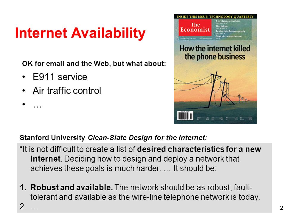 Internet Availability
