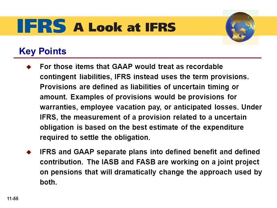 Ifrs 10-2 explain how ifrs defines a contingent liability and provide an example