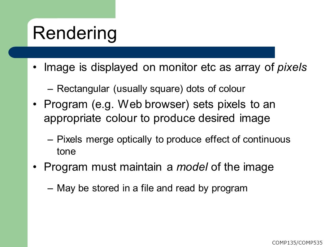 Lecture 4 - Introduction to Computer Graphics - ppt video online