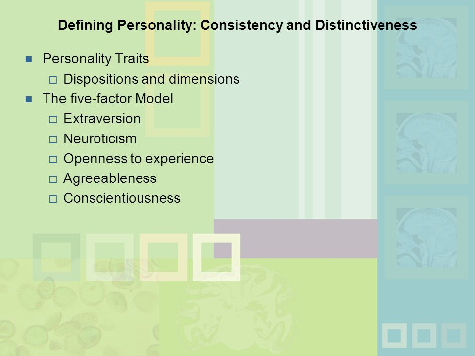 Chapter 12 Personality Theory Research And Assessment Ppt Video